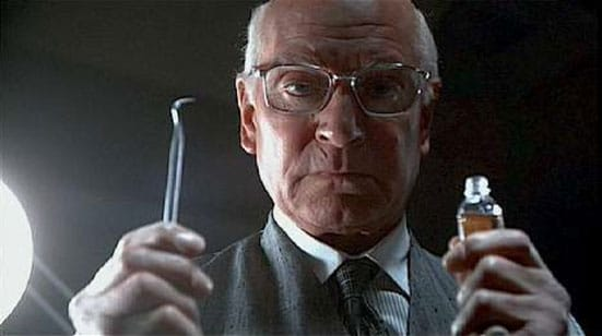 Laurence Olivier as Dr. Christian Szell in 'Marathon Man'