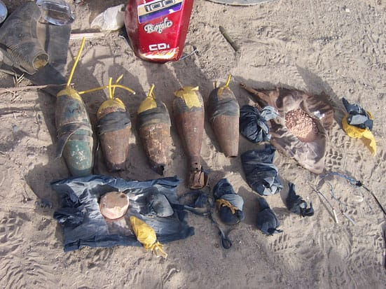 Improvised Explosive Devices (IEDs)