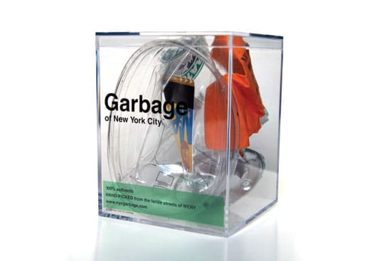 Gillian Whiteley  'Junk: Art and the Politics of Trash' (2010) — New York City Garbage. 
