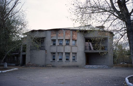 Central Asian Project — Central Asian Project Karlag  2007 Digital video still (former Cosmonaut holiday villa on the edge of Dolinka a former
