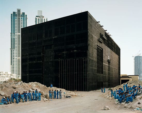 Constructing Worlds:  Photography and Architecture in the Modern Age  — Bas PrincenCooling Plant, Dubai, 2009. Courtesy of Bas Princen