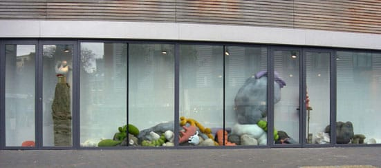 Elly Thomas, Installation (phase 1), Vitrine Gallery, 2011