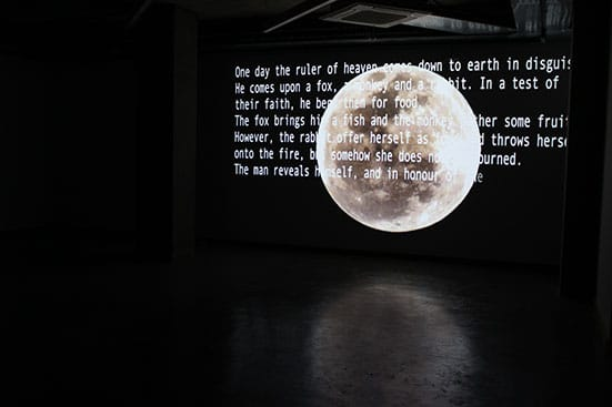 Karl Ingar RøysBurmese Days2014Two-channel video installation 17 minutes, with sound Courtesy the artist