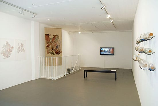 Bertille Bak, installation view, Nettie Horn, 2012