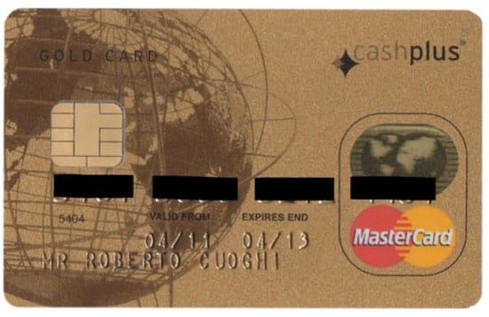 Credit Card of Roberto Cuoghi Roisin Byrne, 2011