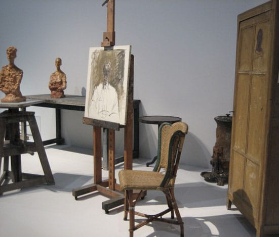 L'Atelier d'Alberto Giacometti at the Pompidou Centre