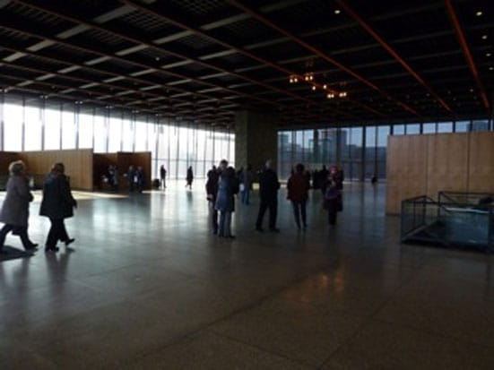 Neue Nationalgalerie, Berlin. Photo: Natalie Hope O'Donnell (2011)