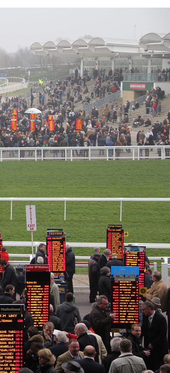 Cheltenham Race CoursePhotograph by Richard Whitby