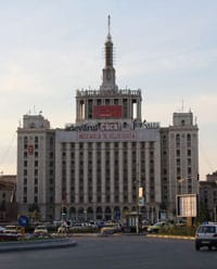 House of the Free Press (Formally known as 'House of Sparks' and 'House of Lies', Bucharest