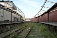 Disused Folkestone Harbour Station.